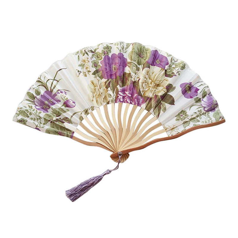 East Promotions low-cost blank hand fans from China for decoration-2