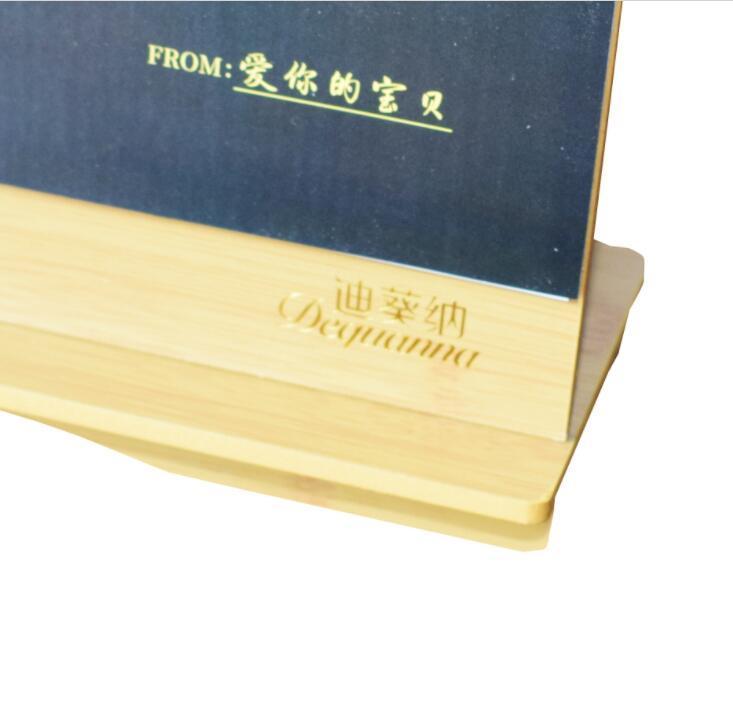 Custom Printing Colorful Desk Wooden Calendar for Promotion