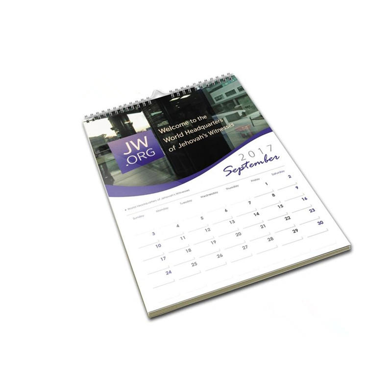Promotional Personalized 2020 Paper Wall Calendar