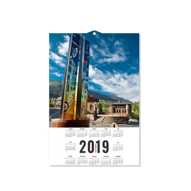 Factory Supply 3D Lenticular Wall Calendar for Promotion Gifts