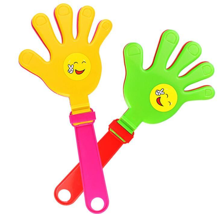 PP Plastic Hand Clapper and Hand Clap Toy PP Cheering Finger