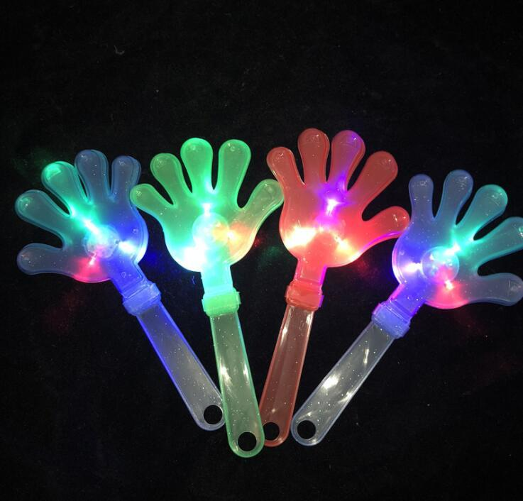Wholesale Plastic LED Flashing Hand Clappers
