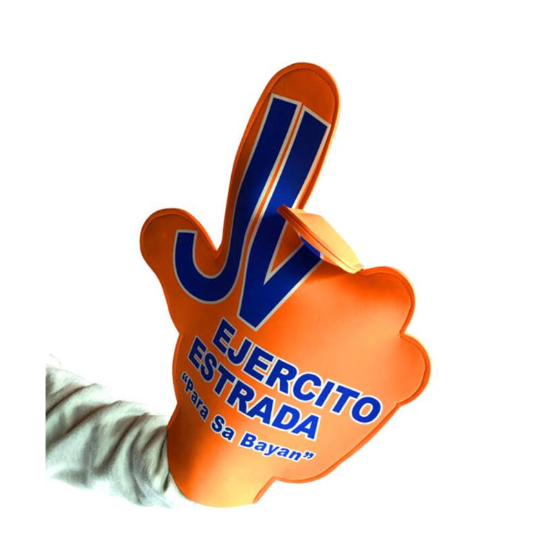 Custom Large Wearable Cheering EVA Foam Fingers, Foam Hands