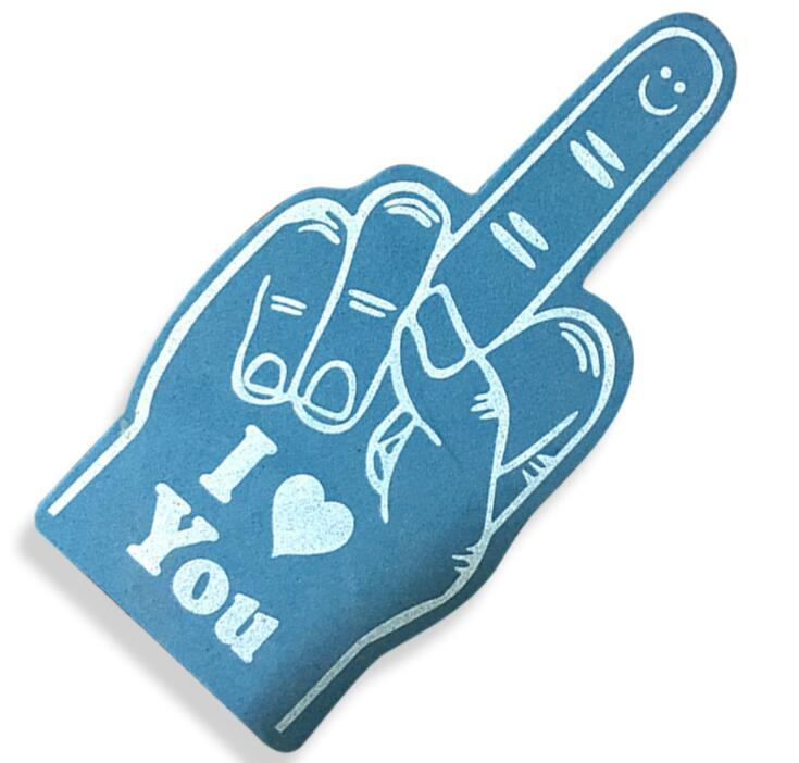 Party Events Cheering EVA Foam Finger Custom Hand