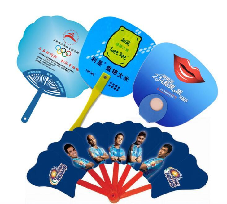 PP Advertising Hand Fan for Promotion