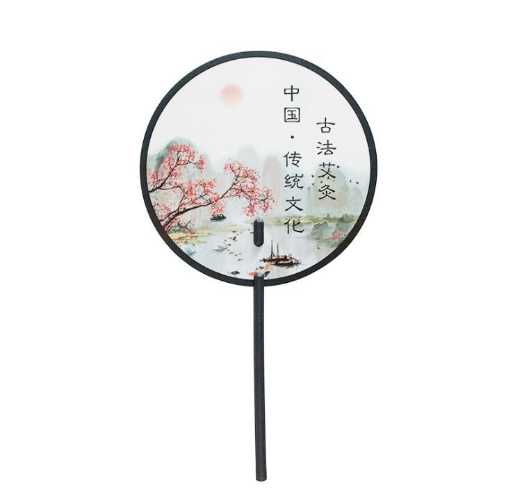 Custom PP Hand Fan Cartoon Fan for Promotion Gifts