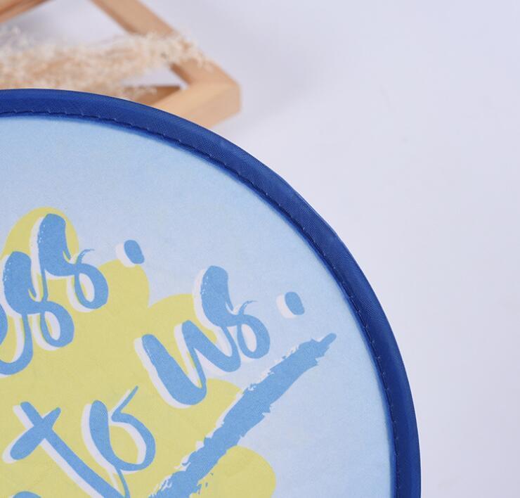 Custom Handheld pop-up fan for Promotion