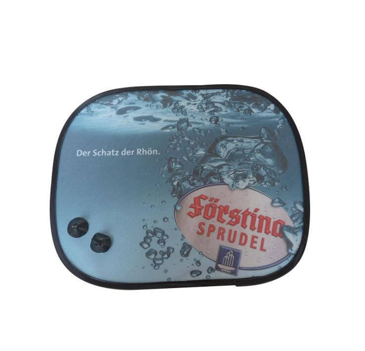 Custom Promotional cartoon car side sunshade With Sucker