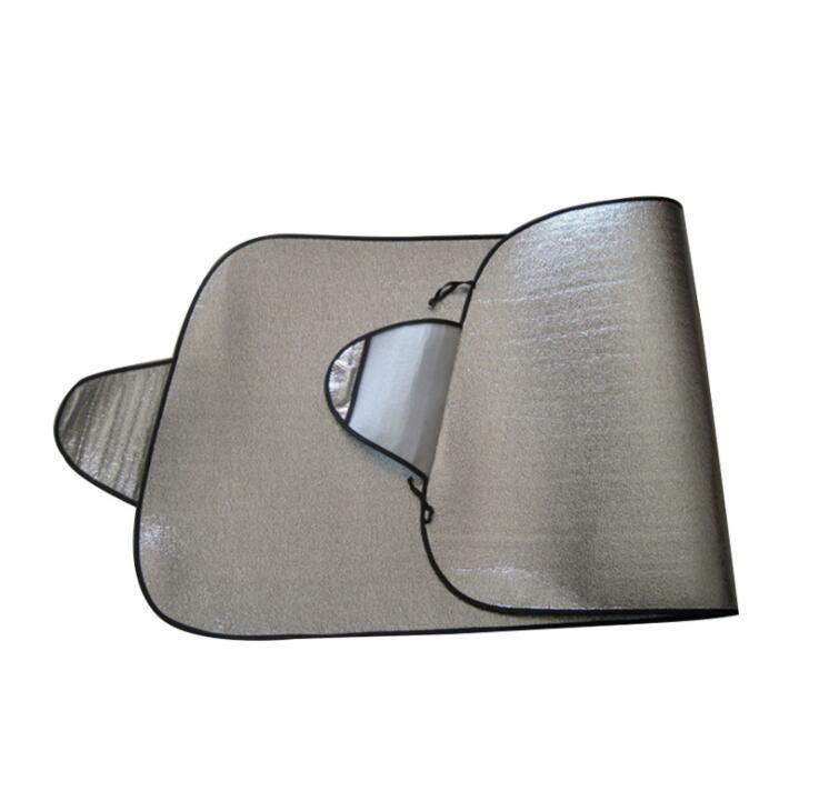 Custom Logo Car Front Window Sunshade Aluminum Foil Sun Shade