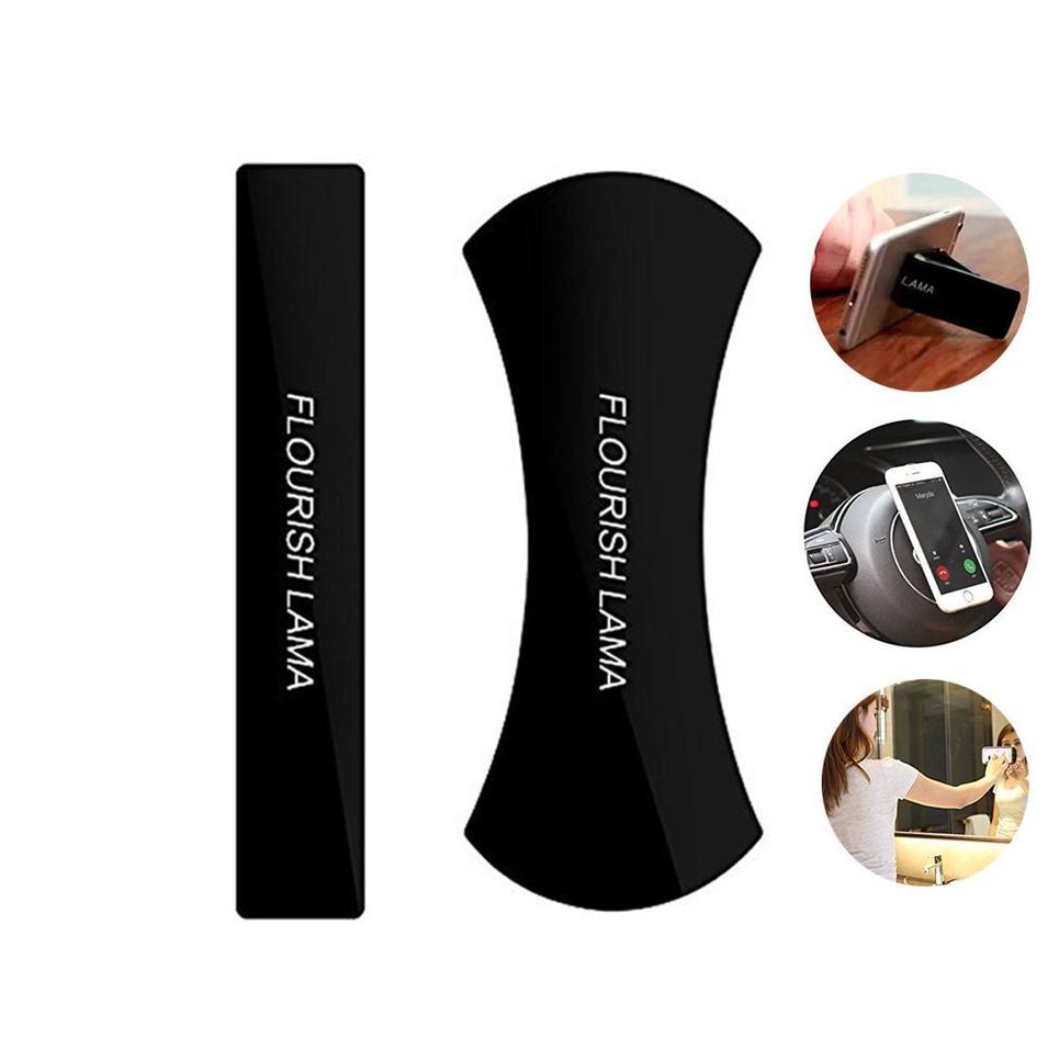 Flourish Lama Mobile Phone Holder Sticky Anti-Slip Gel Pads