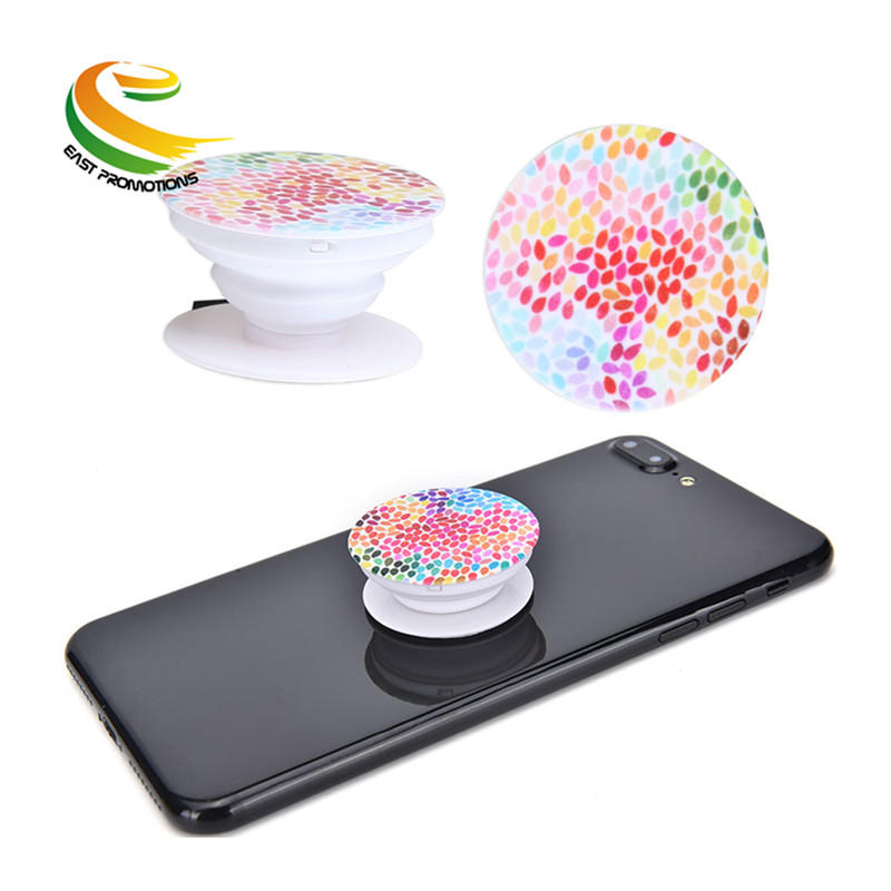 Universal Custom Logo Smartphone POP Finger Ring Sockets Phone Holder