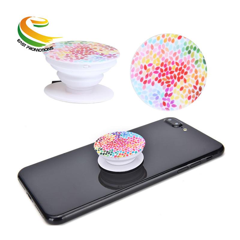 Universal Custom Logo Smartphone POP Finger Ring Sockets Phone Holder