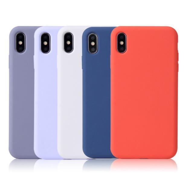 Multicolor Liquid Silicone Rubber Phone Case for iPhone