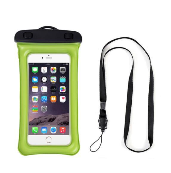 Amazon Hot Sale Floatable Waterproof Phone Case  PVC Phone bag