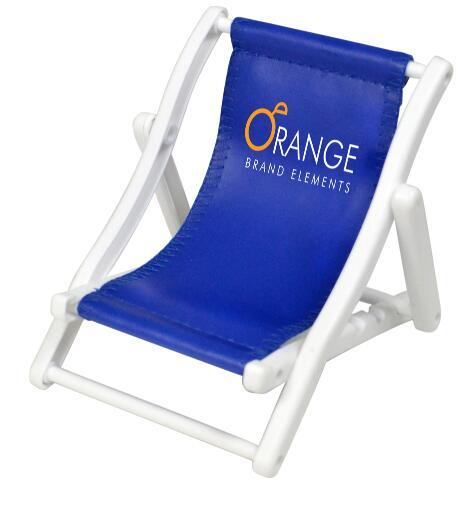 Custom beach chair cell mobile phone holder Stand with Logo Printed