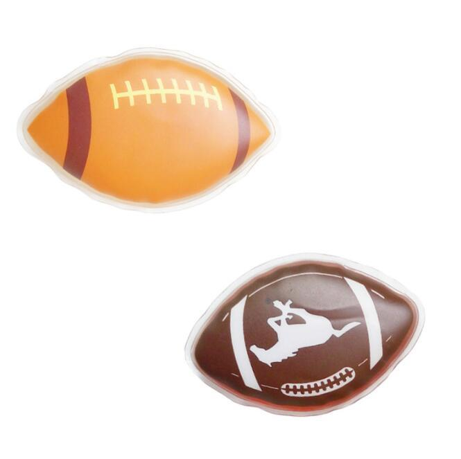 Football Shape reusable gel hand warmers for Promotional Gifts
