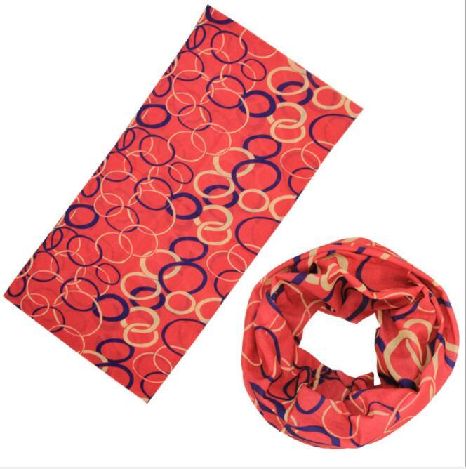 Custom Magic Scarf Multifunction Headwear Seamless Neck Tube Bandana