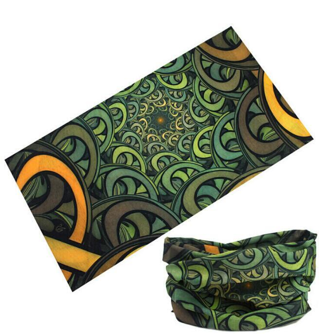 Custom Promotional Multifunction Neck Tube Scarf Seamless Bandana