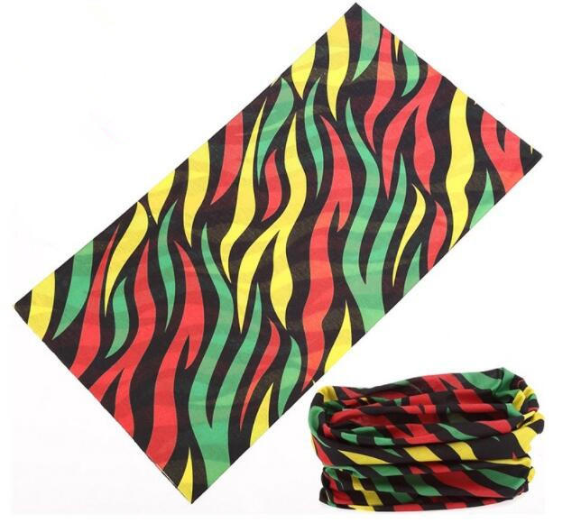 Custom Printed Polyester Multifunctional Tube Bandana for Outdoor Sports