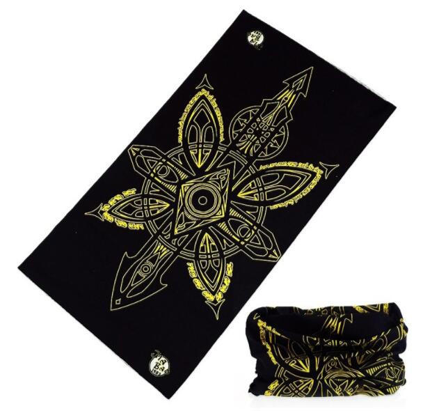 Amazon Hot Style Polyester Multifunction Scarf Face Mask Bandana for Outdoor Cycling