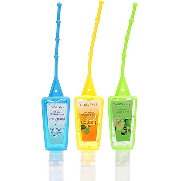Custom 29ML waterless Hand Sanitizer with Silicone Holder