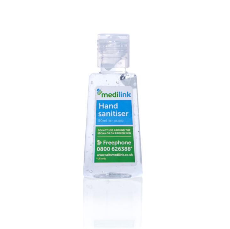 Manufacturer Custom 50ml Portable Hand Sanitizer Gel for Healtcare