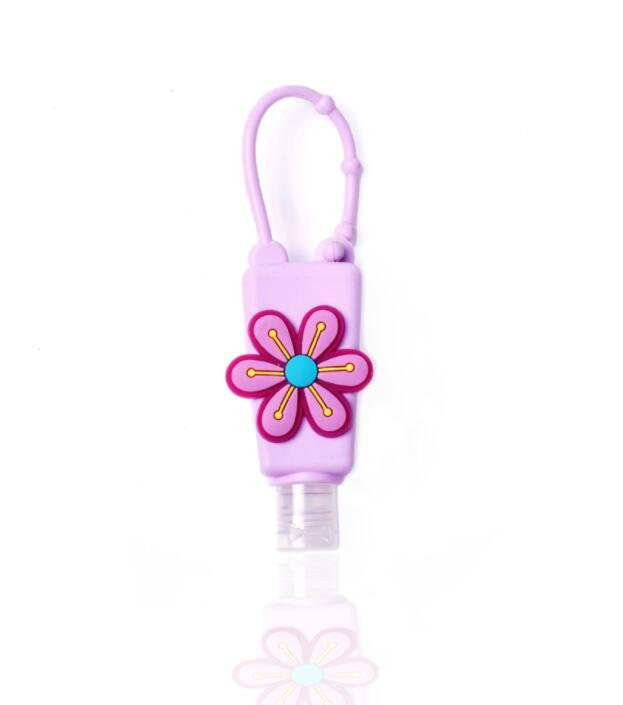 Custom Cheap Mini Hand Wash Liquid Soap Hand Sanitizer with Silicone Holder