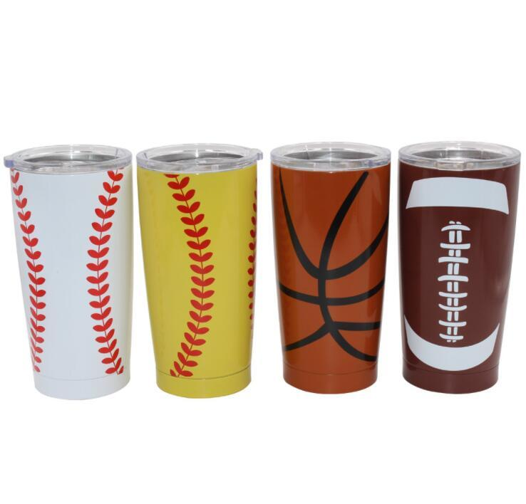 30oz Stainless Steel  Baseball Tumbler Cup Wholesale