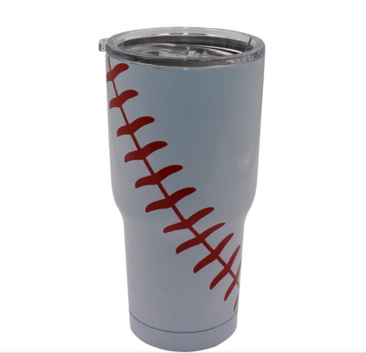 Baseball Stainless Steel Custom 20oz Tumblers for Corporate gifts