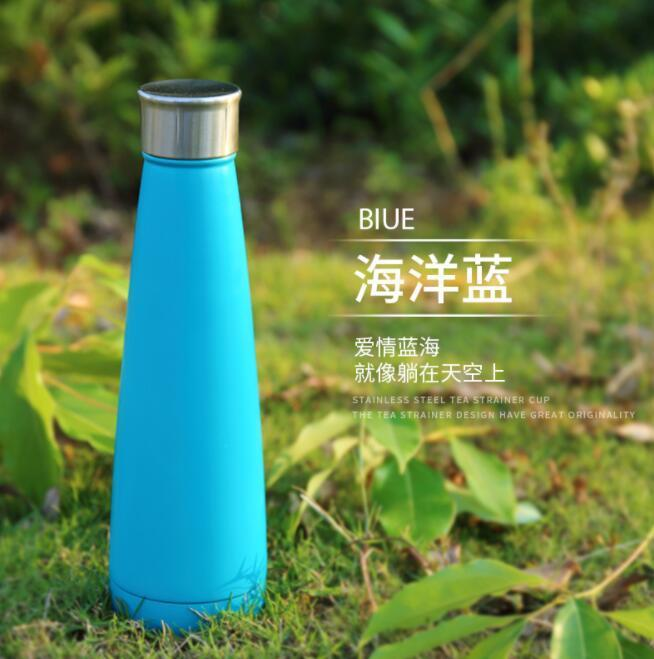 Double-layer Vacuum Stainless Steel Coke Bottle Insulation Cup Outdoor Sports Bottles
