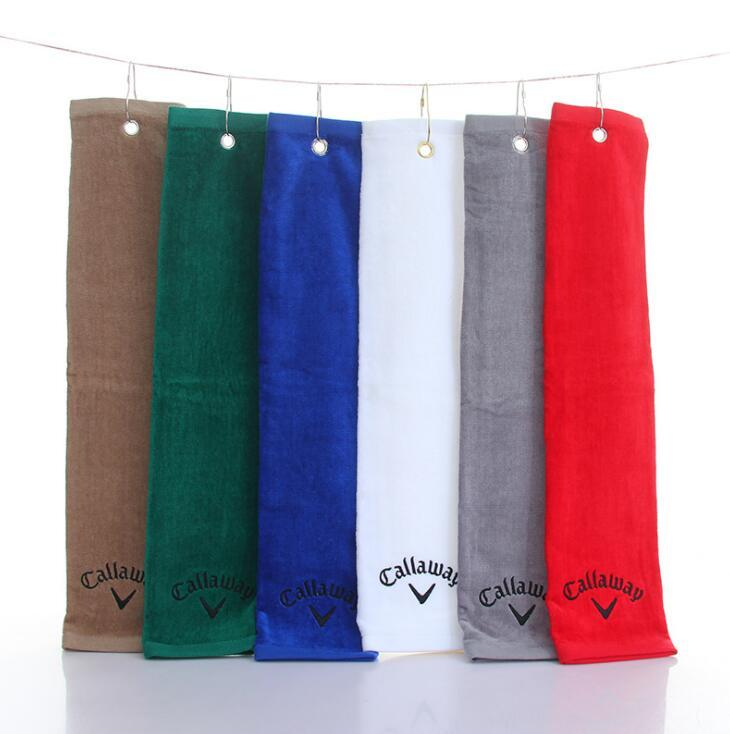 Customized Cotton Golf Towel with Logo Embroidered