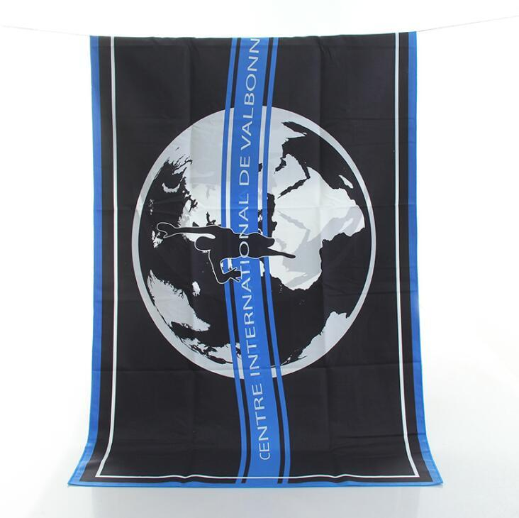 Wholesale Quick-dry Microfiber Beach Towel with Full Color Printing