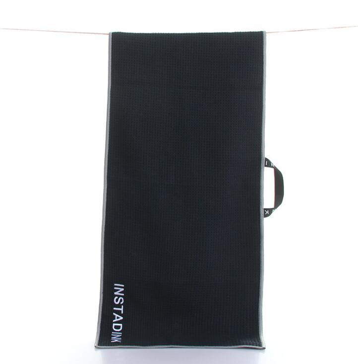 Personalized Absorbent Microfiber Sports Golf Hand Towel with Logo Printed