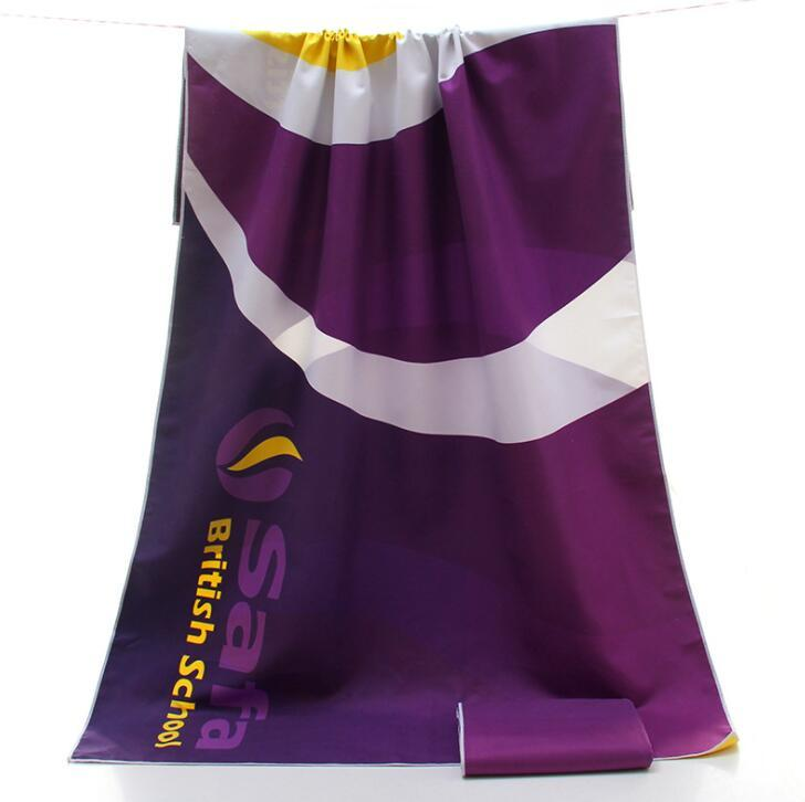 China suppliers Microfiber Quick Drying Sport Towel With PVC pouch