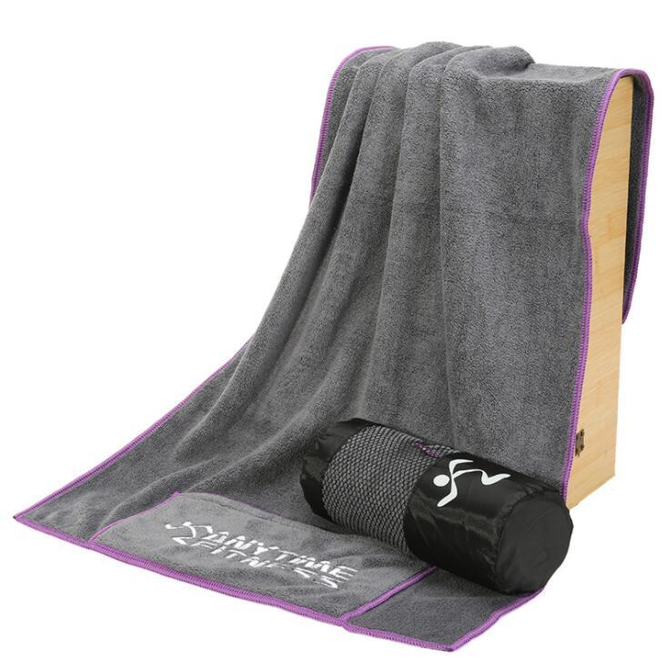 Custom Cotton Sport Towel With zippered bag