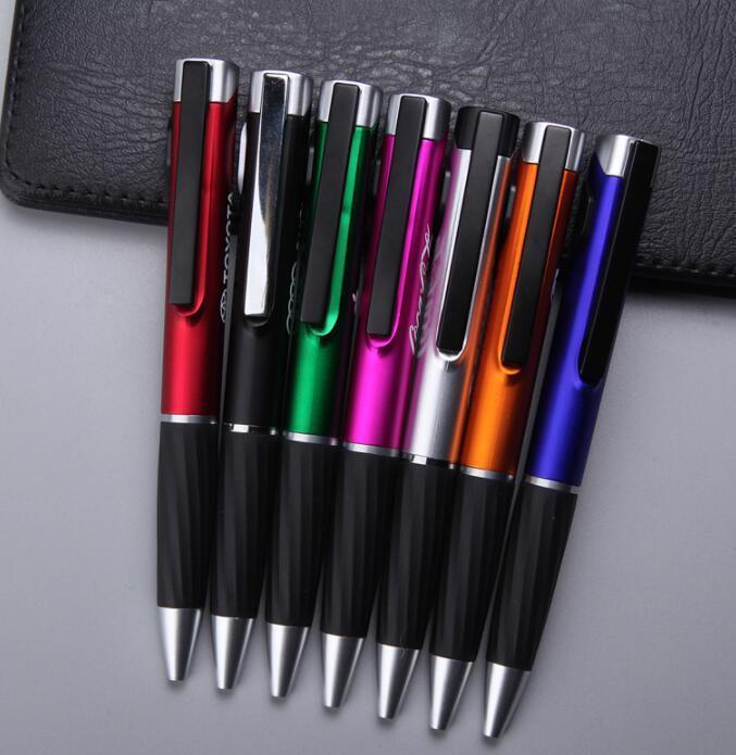 Custom LED Light Logo Glow Ballpoint Pen Promotional Pens