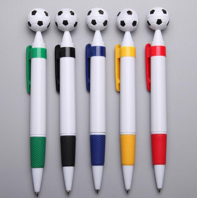 Custom Logo Football Plastic Ballpoint Pen for Promotion