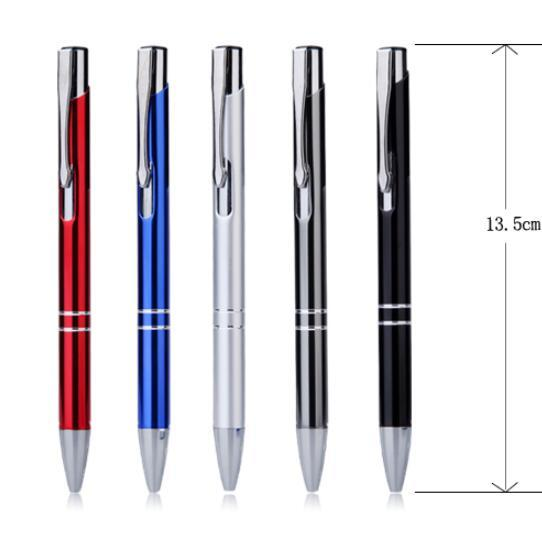 Custom Promotional Metal Ballpoint Pen with Brand Logo