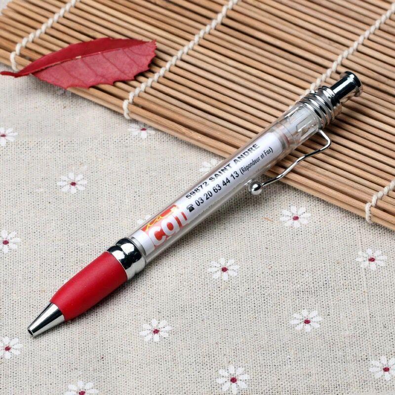 Custom Printing Advertising Banner Pen Promotional Ball Pen