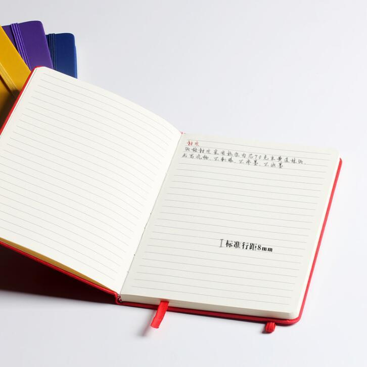 Custom Logo Hardcover Notebook with Elastic Band