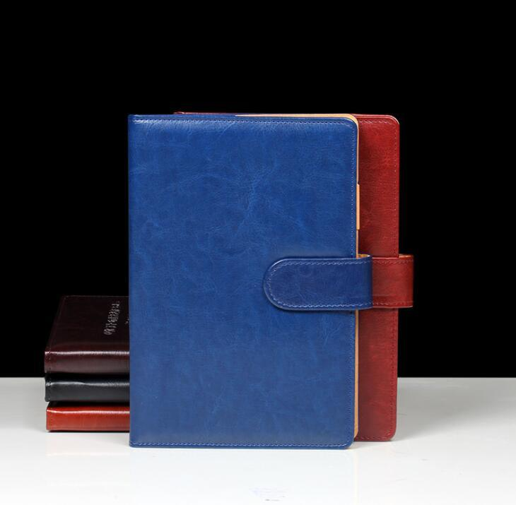 Custom PU Leather Business notebook for Office