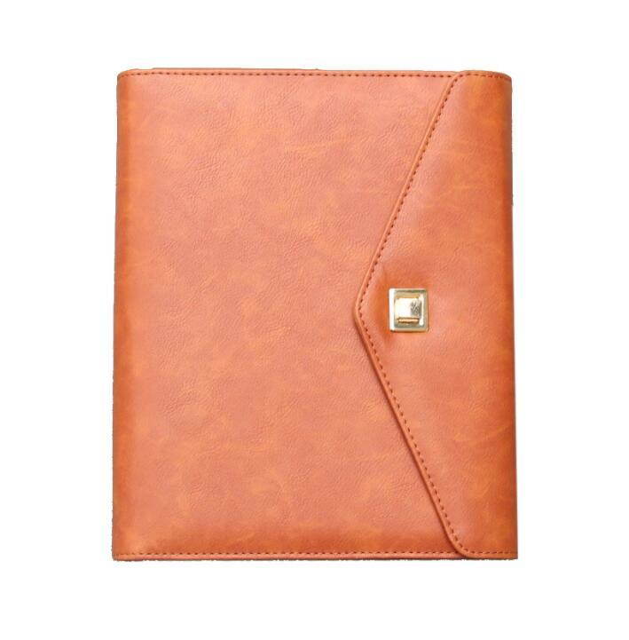 Wholesale multifunction  A5 Ring Binder Notebook with Power Bank