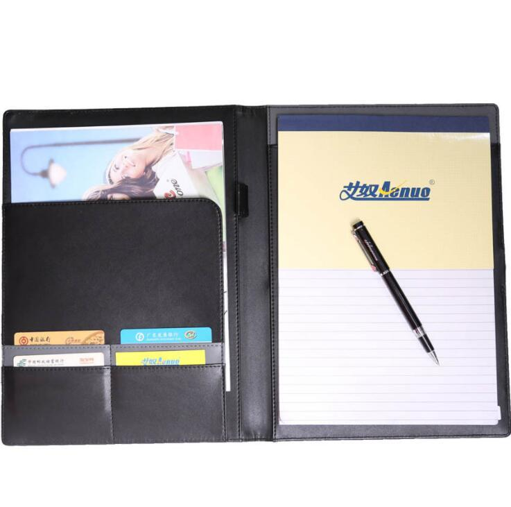 PU Business Document Organizer Portfolio File Folder