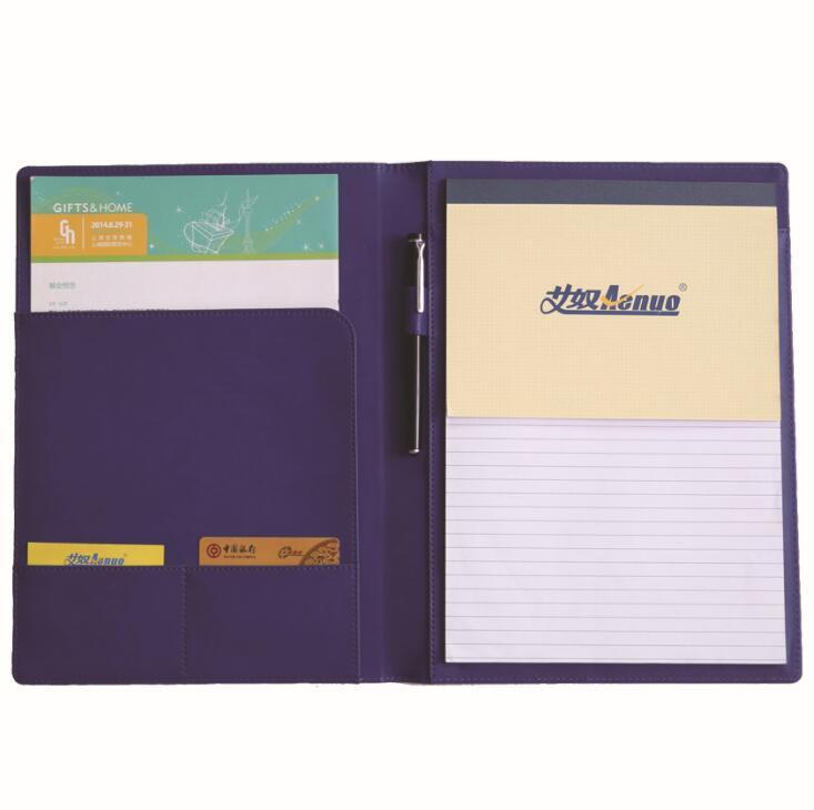 PU Business Document Organizer Portfolio File Folder
