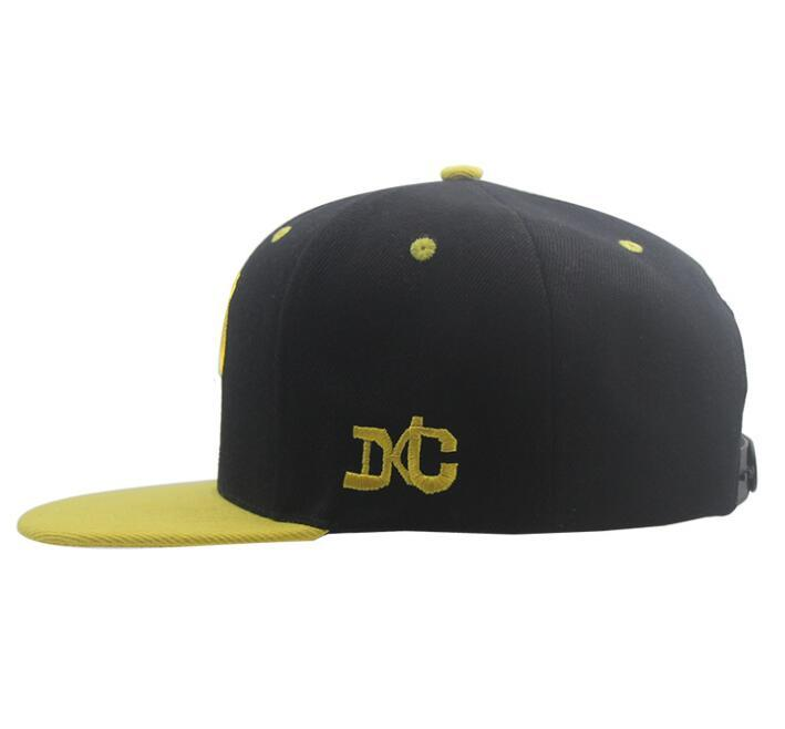 Custom Cotton Hip Hop Snapback Hat Fashion Sport Baseball Cap for Promotion