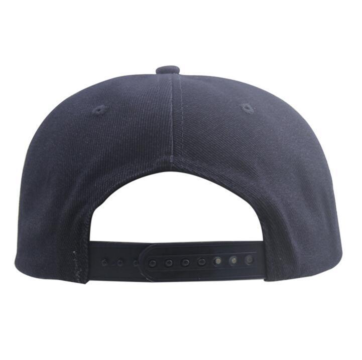 Wholesale Custom 3D Embroidery Flat Brim Snapback Hat Trucker Cap Baseball Cap