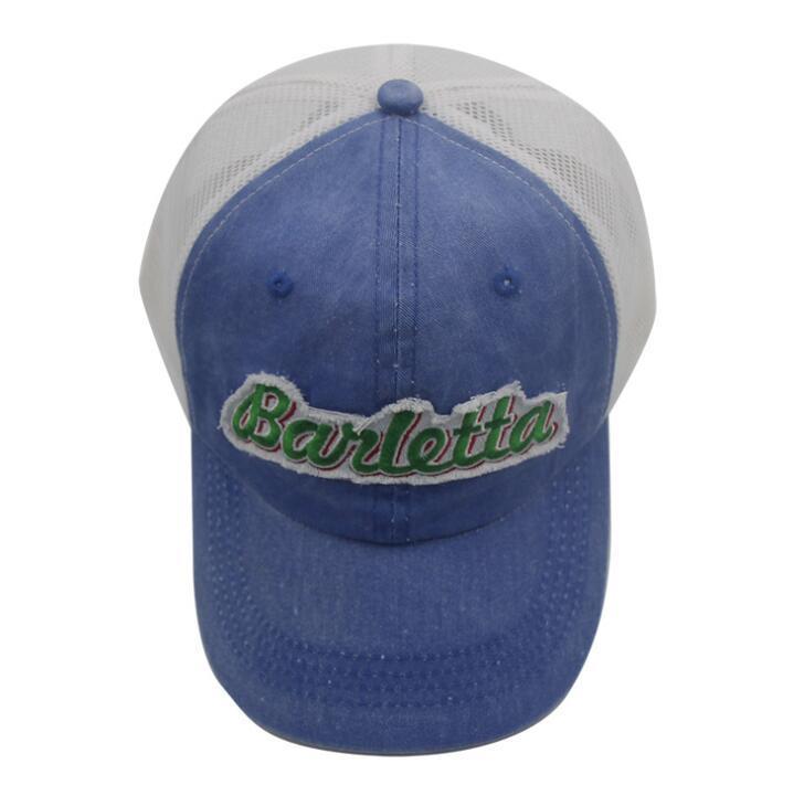 Custom Trucker Mesh Cap Sport Golf Baseball Hat with Woven Label