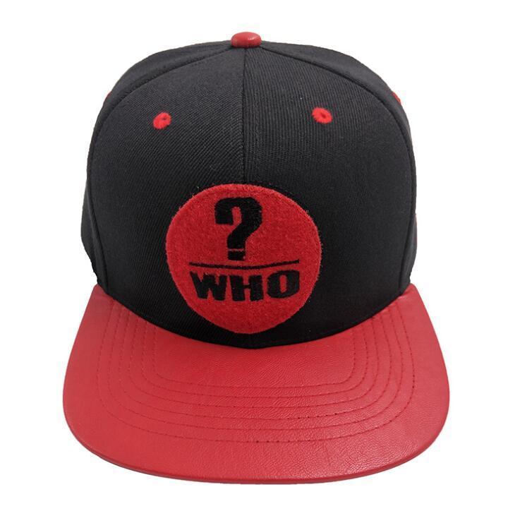 Wholesale Acrylic Embroidery Snapback Cap Hop Hat Manufacturer