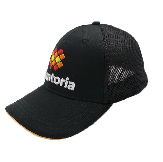 Custom Cheap Black Mesh Trucker Baseball Caps Hat for Promotional Gifts