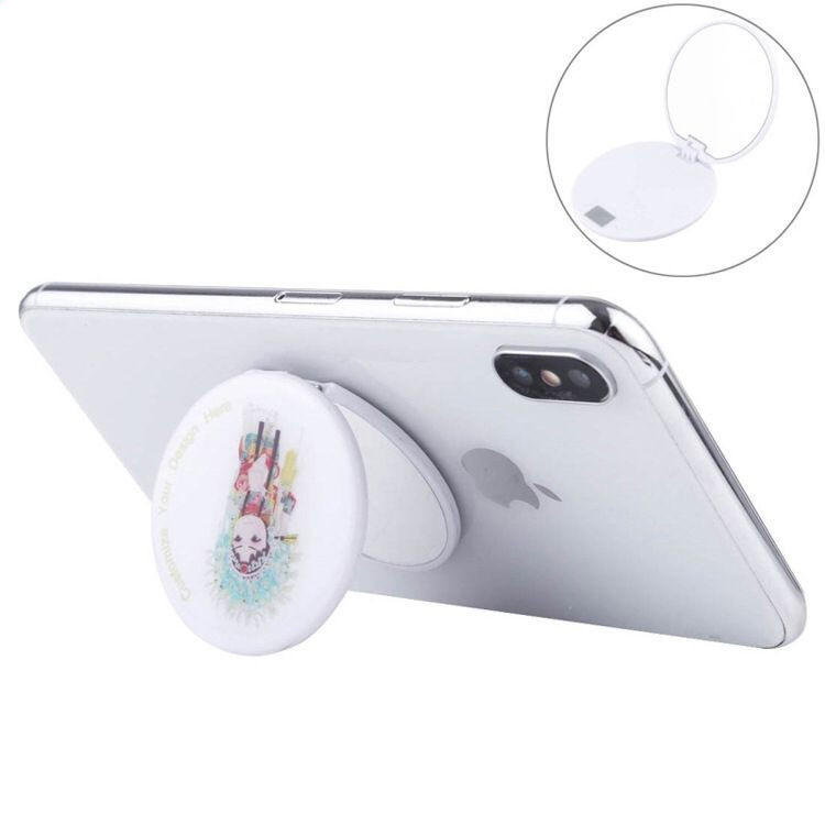 Custom Mirror Cell Mobile Phone Holder Tablet Stand with 3m Sticker